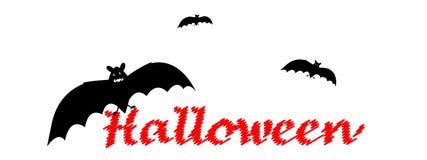 Halloween-texr Lizenzfreie Stockfotografie