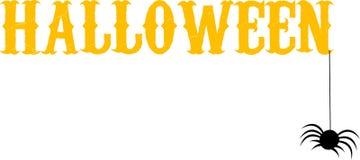 Halloween text Royalty Free Stock Photos