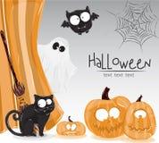 Halloween_text Fotos de archivo
