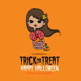 Halloween Thai Ghost Royalty Free Stock Images
