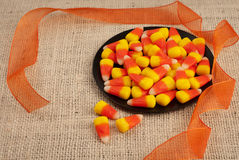 Halloween or Thanksgiving Background Stock Photo