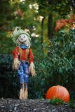 Halloween, Thanksgiving Garden Display Stock Image