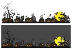 Halloween-Thema furchtsam Stockfotos