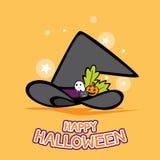Halloween-Themavektorhintergrund vektor abbildung