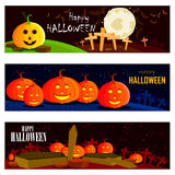 Halloween theme background Stock Images
