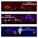 Halloween theme background Royalty Free Stock Images