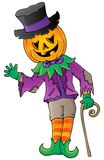 Halloween theme figure image 1 Stock Image