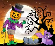 Halloween theme figure image 2. Eps10 vector illustration Stock Photo