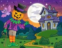 Halloween theme figure image 4. Eps10 vector illustration Stock Photos