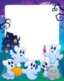 Halloween theme frame 1 Royalty Free Stock Photo