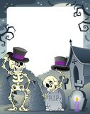 Halloween theme frame 3 Royalty Free Stock Photo