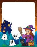 Halloween theme frame 8 Royalty Free Stock Photos