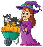 Halloween theme image 2 Royalty Free Stock Photo