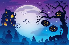 Halloween theme image 9 Royalty Free Stock Photo
