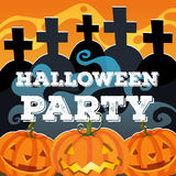 Halloween theme with jack-o-lantern Stock Photo