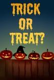 Halloween theme with jack-o-lantern Stock Photography