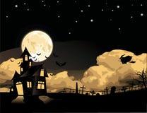 Halloween theme. Vector Stock Photo