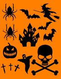 Halloween Theme! Vector images...(clip art) Royalty Free Stock Photography
