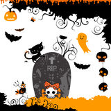 Halloween themed design Stock Photography