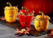Halloween themed salad Stock Photo