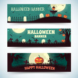 Halloween time background concept in retro style. Stock Image