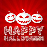 Halloween time background concept in retro style. Royalty Free Stock Photography