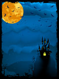 Halloween time spooky illustration.  Stock Photography