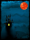 Halloween time spooky illustration. EPS 8 Stock Image