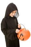 Halloween to wiadro Zdjęcie Royalty Free