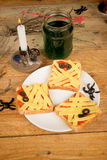 Halloween toasties Stock Images