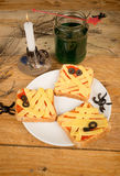 Halloween toasties Royalty Free Stock Image