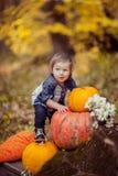 Halloween Toddler Stock Photography