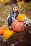 Halloween Toddler Stock Photos