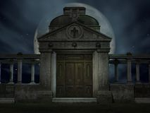 Halloween Tomb Stock Photos