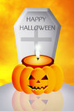 Halloween tomb Royalty Free Stock Images