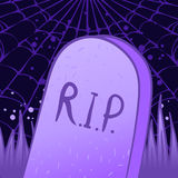 Halloween tombstone Stock Images