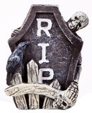 Halloween Tombstone Royalty Free Stock Image