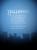 Halloween tombstone background Royalty Free Stock Photography