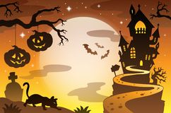 Halloween topic background 4 Royalty Free Stock Photography