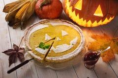 halloween tortowa bania fotografia stock
