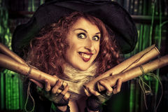 Halloween-tovenaar Royalty-vrije Stock Fotografie
