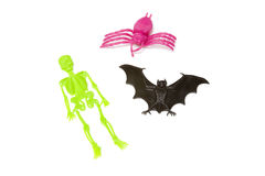 Halloween toys Royalty Free Stock Photography