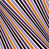 Halloween traditional colors diagonal striped pattern. Lined abstract background. Modern style geometric surface texture. Halloween traditional colors diagonal Stock Photos