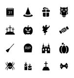 Halloween Traditional Icons  Royalty Free Stock Photo