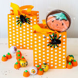 Halloween Treat Bags Stock Photo