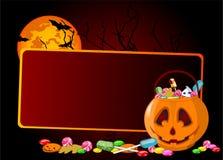 Halloween treats background Royalty Free Stock Photography