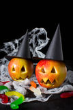 Halloween treats for children Stock Images