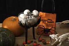 Halloween Treats and Decorations Royalty Free Stock Photos
