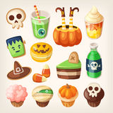 Halloween treats. vector illustration