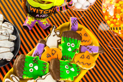 Halloween treats Stock Photos